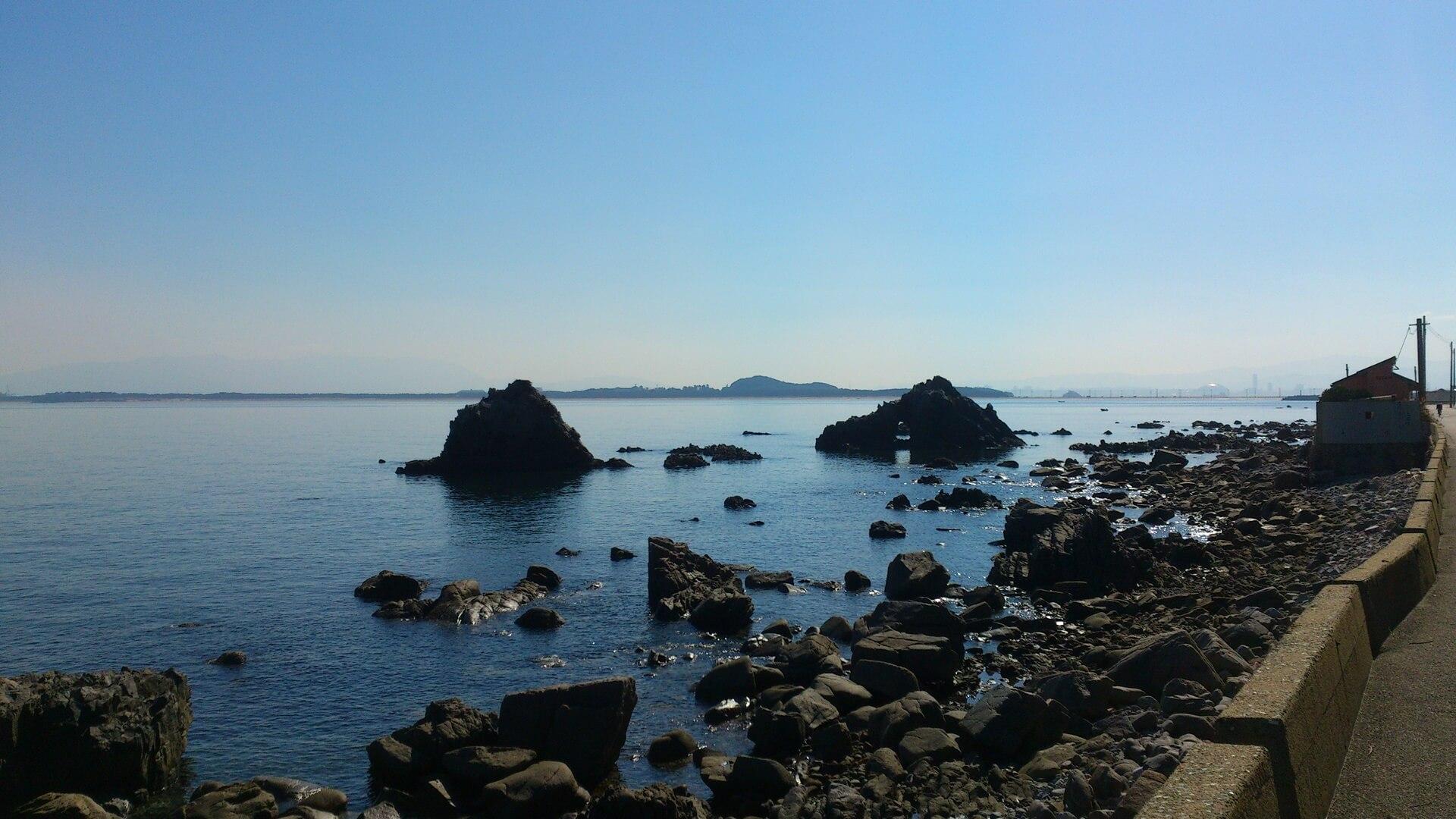 志賀島 二見岩