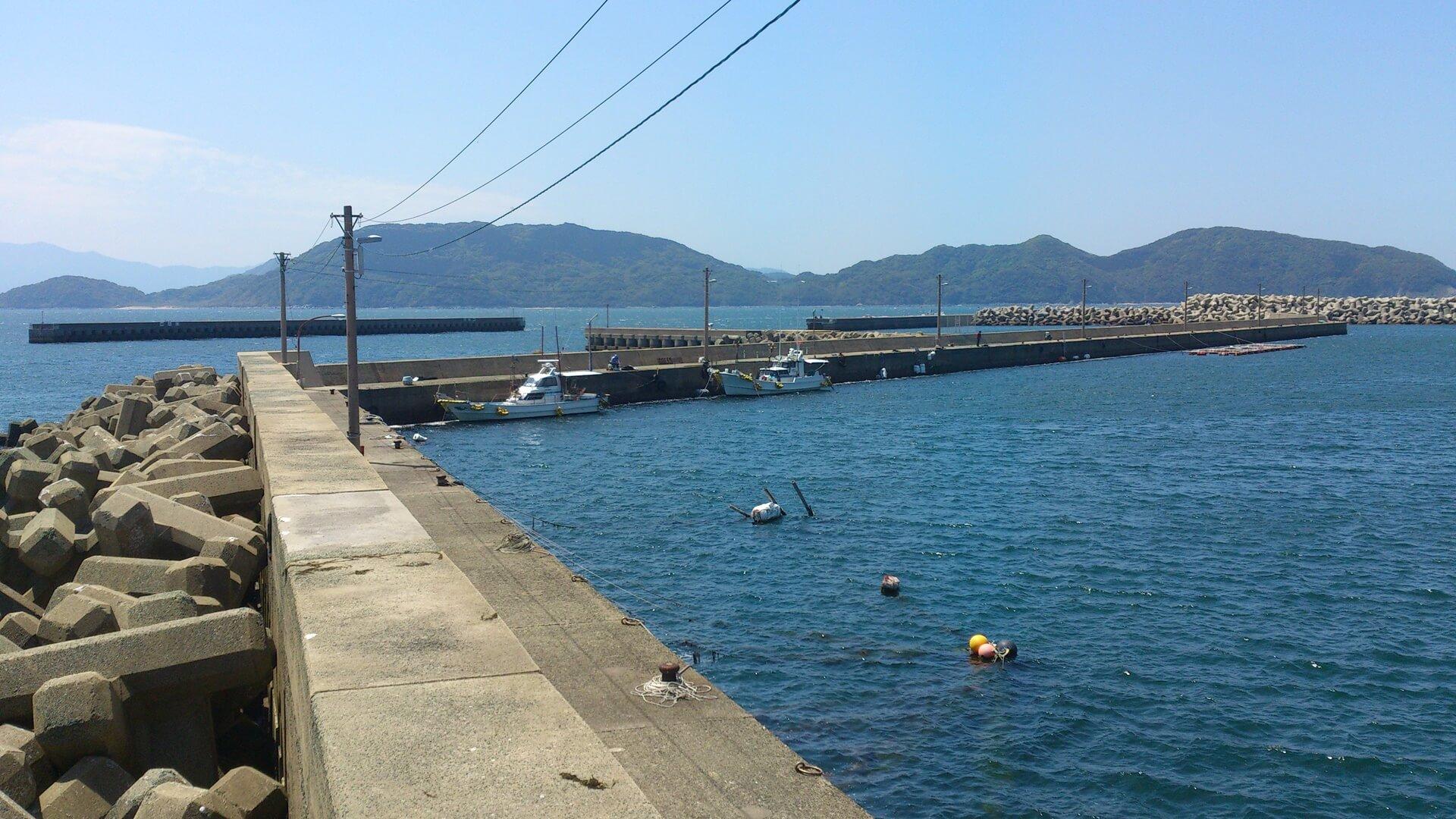 防波堤で釣りをしてみよう