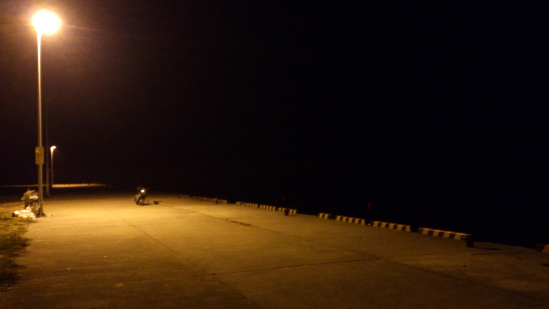 新宮夜釣り