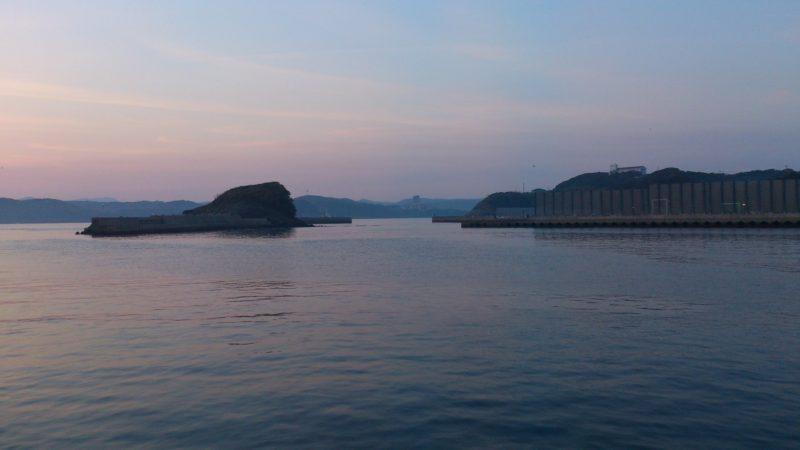 田助漁港(港内)