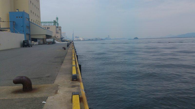 須崎埠頭突端