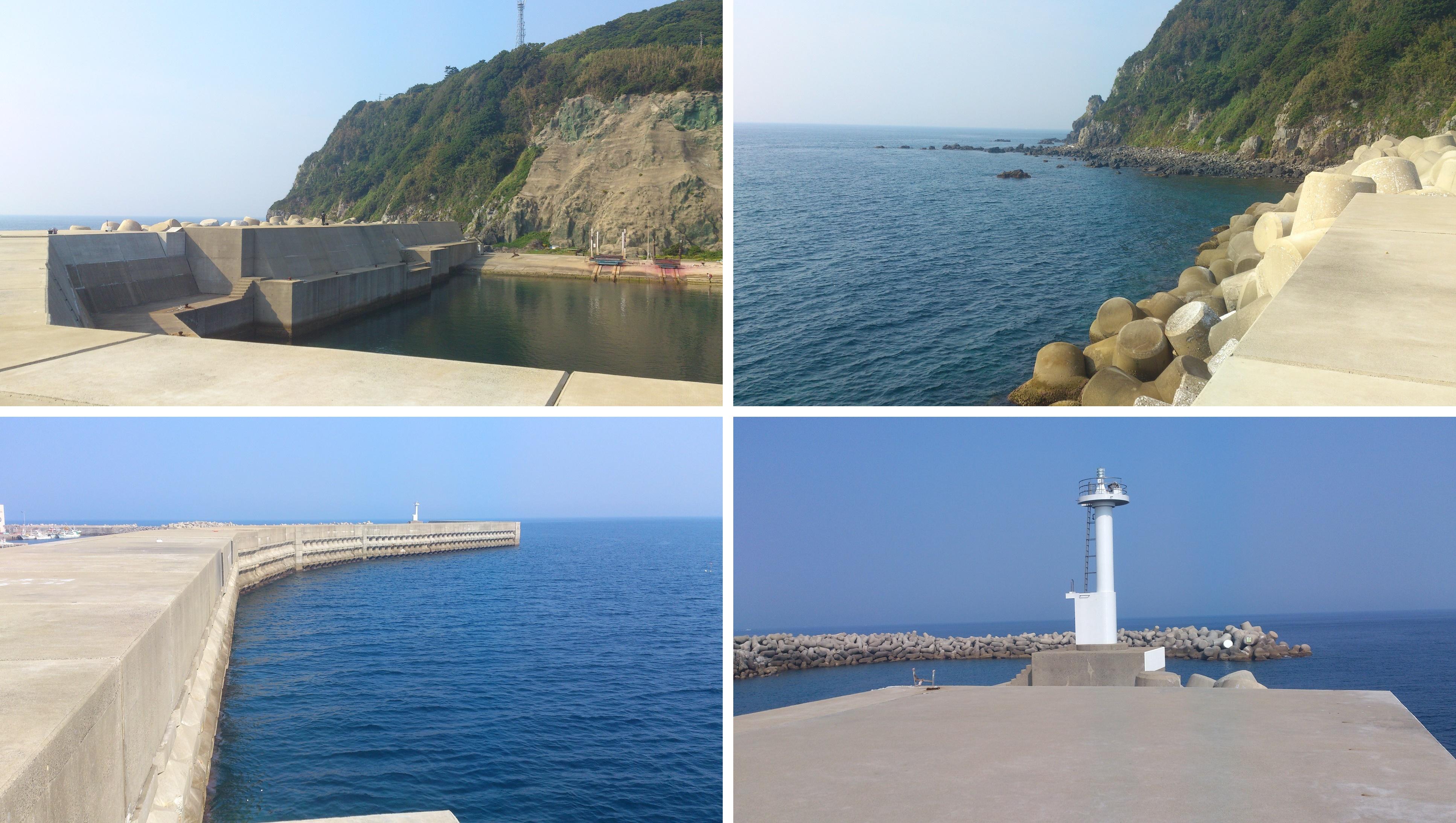 小呂島防波堤