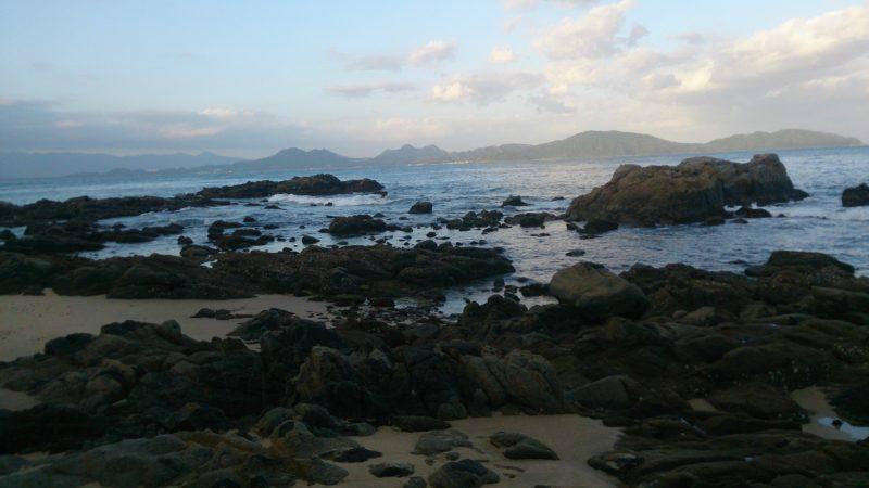 大崎の岩場