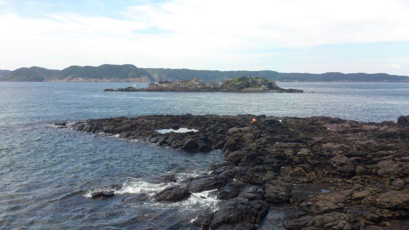 小川島横に弁財天