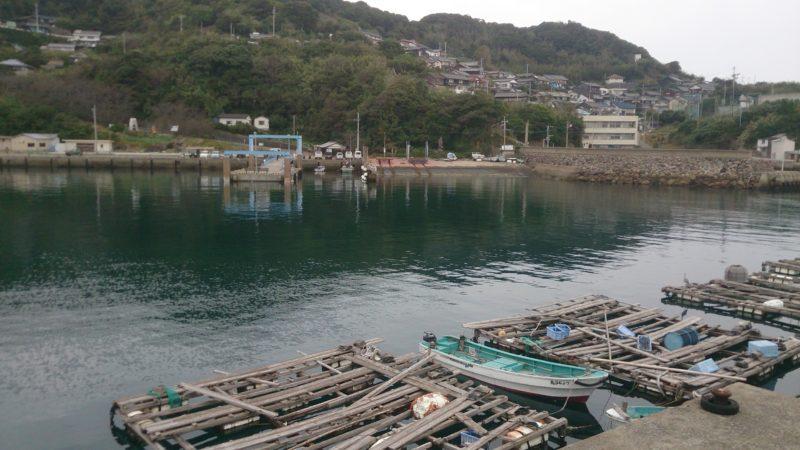 加唐島(港内の風景)