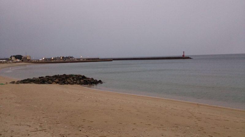 福吉の砂浜海岸