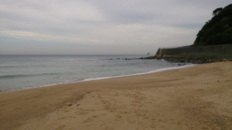 大口海岸は二見ヶ浦側