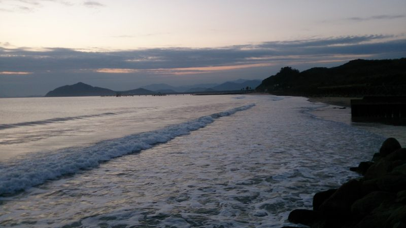 北崎周辺の海岸