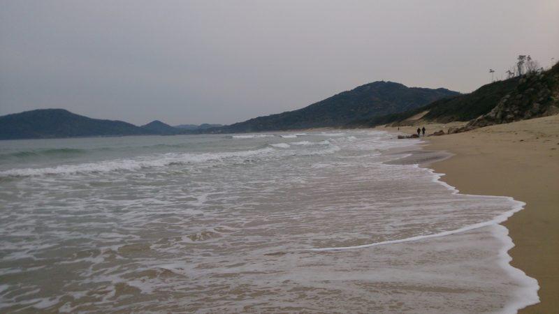 芥屋の海岸