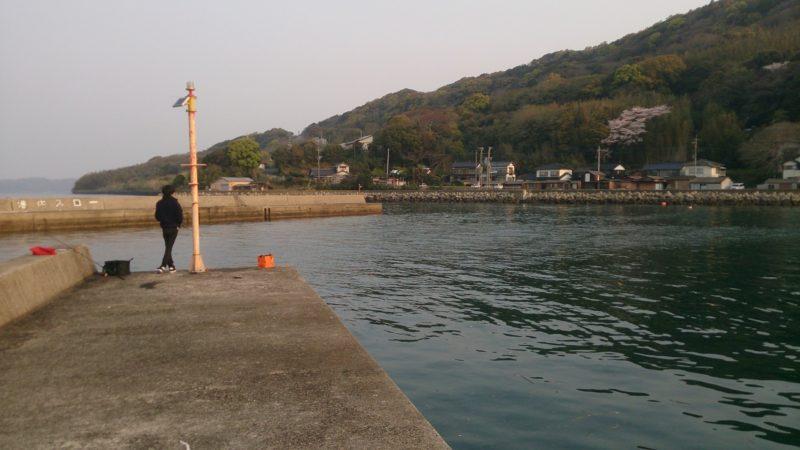 鍋串漁港先端