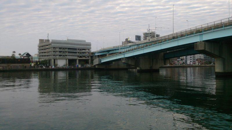 みなと大橋付近