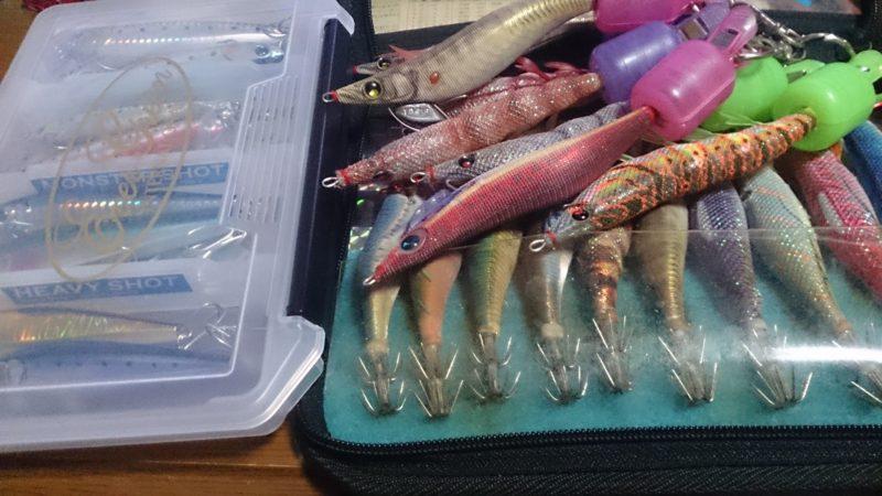 春の釣り準備