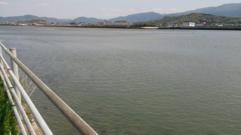 泉川河口側