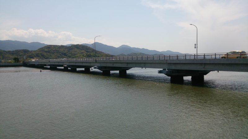 雷山川最後に架かる橋